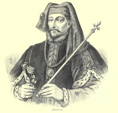 King Henry IV. From an old engraving.