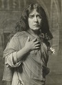 Julia Marlowe (1865-1950) as Ophelia.