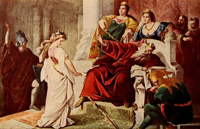an analysis of the character cordelia in king lear a play by william shakespeare An introduction to king lear play is 400 themes unfold clearly through character and incident shakespeare when cordelia, the king's youngest and.
