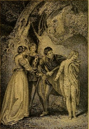 the quality of the two gentlemen of verona the two gentlemen of verona act five scene three illus t