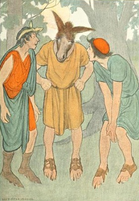 Bottom. Illus. Lucy Fitch Perkins, 1907.